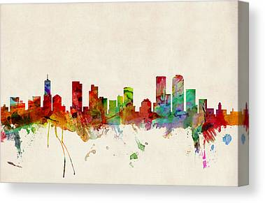 Denver Canvas Prints