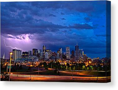 Long Exposure Canvas Prints