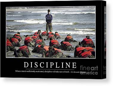 Physical Fitness Canvas Prints