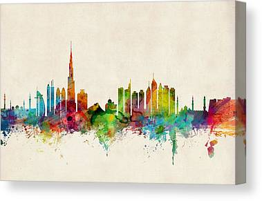 Emirates Canvas Prints