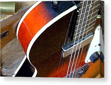 Slide Guitars Canvas Prints