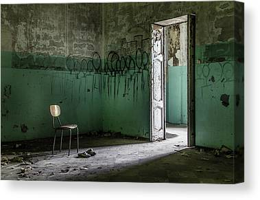 Decaying Architecture Canvas Prints