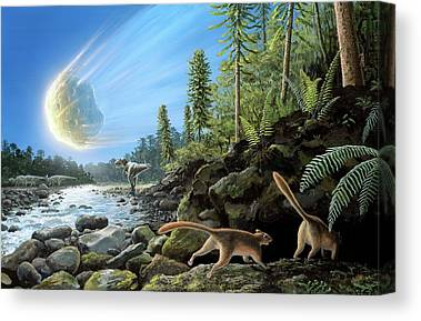 Mass Extinction Canvas Prints
