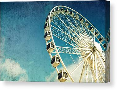 Wheel Canvas Prints