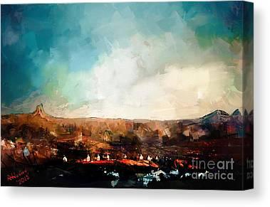 Prescott Digital Art Canvas Prints