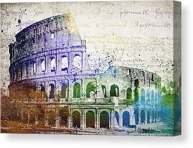 Domitian Canvas Prints