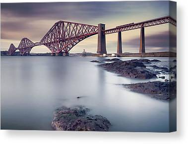Firth Of Forth Canvas Prints