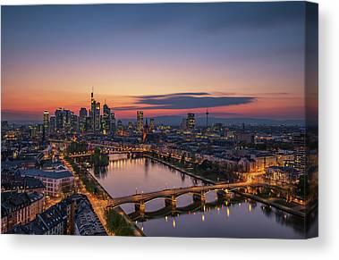Frankfurt Canvas Prints