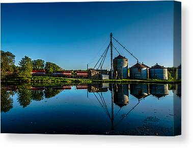 Feed Mill Photographs Canvas Prints