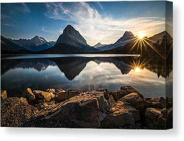 Glaciers Canvas Prints