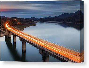 Highway Canvas Prints