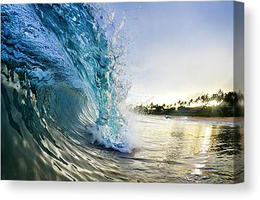 Surf Sea Canvas Prints