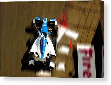 Rahal Letterman Racing Canvas Prints
