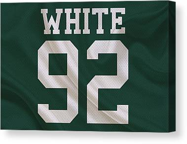 Reggie White Canvas Prints