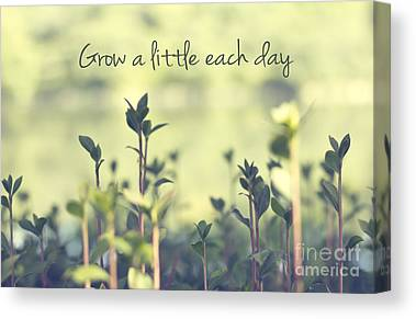 Grow Canvas Prints