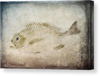 Gyotaku Canvas Prints