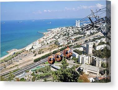 Aerial Tramway Canvas Prints