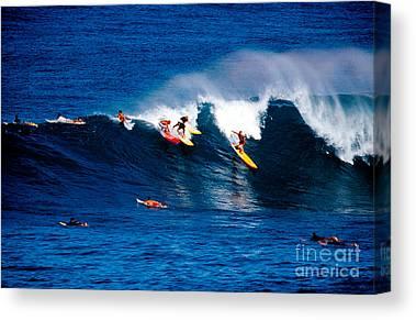 Surf Boards Canvas Prints