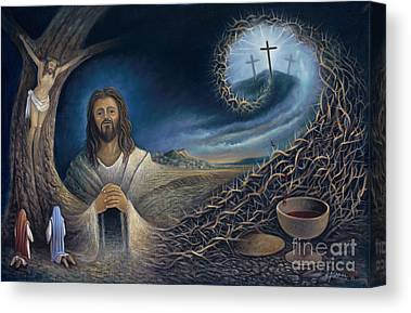 Crucifixtion Canvas Prints