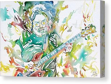 Concert Images Canvas Prints
