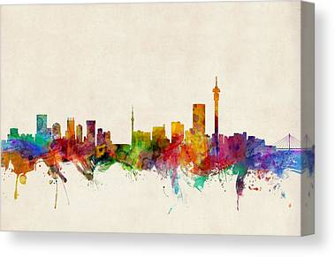 Johannesburg Canvas Prints