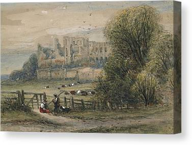 Kenilworth Castle Canvas Prints