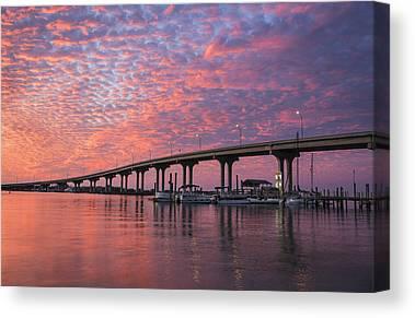 Florida Bridge Canvas Prints