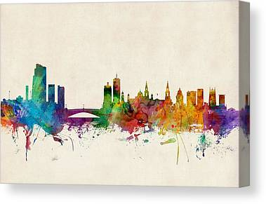 Leeds Canvas Prints