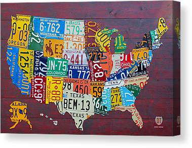 Alabama Canvas Prints