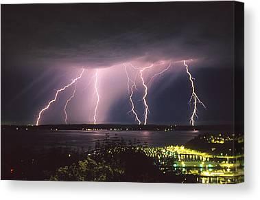 Lightning Rod Canvas Prints