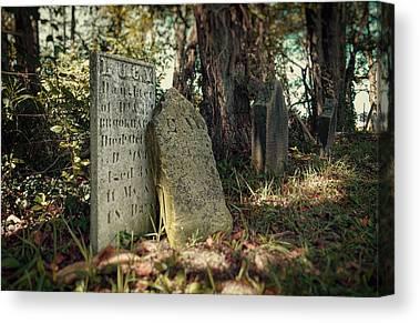 Burial Canvas Prints