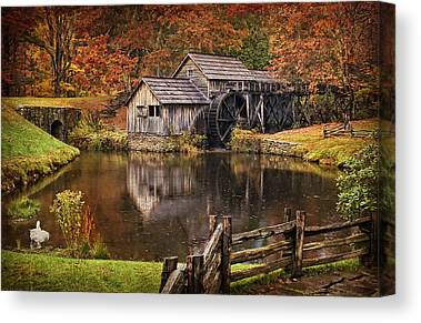 Millrace Canvas Prints