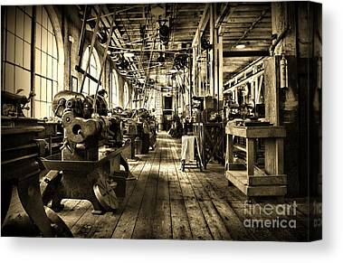 Drill Presses Canvas Prints