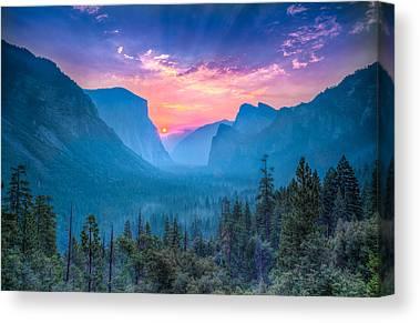 Marvelous View Canvas Prints