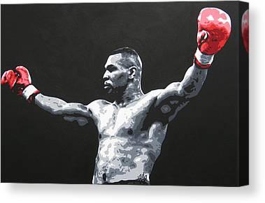 Mike Tyson Canvas Prints