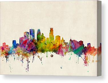 Minneapolis Canvas Prints