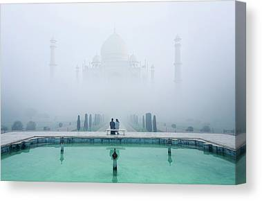 Temple Canvas Prints