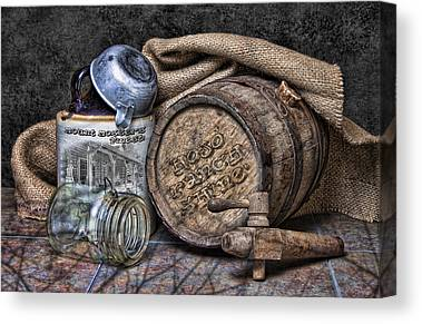 Keg Canvas Prints
