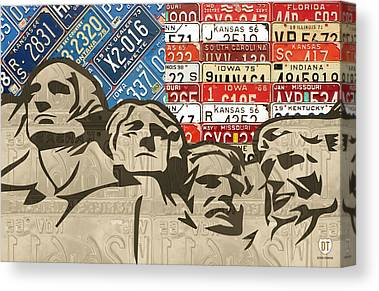 Historical Landmark Canvas Prints