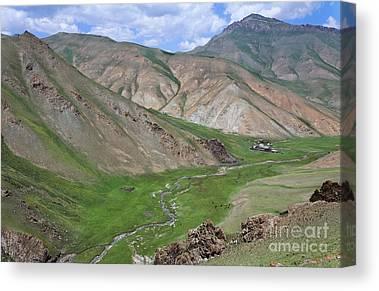 At-bashy Mountain Range Canvas Prints