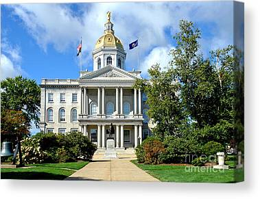 Concord Center Canvas Prints