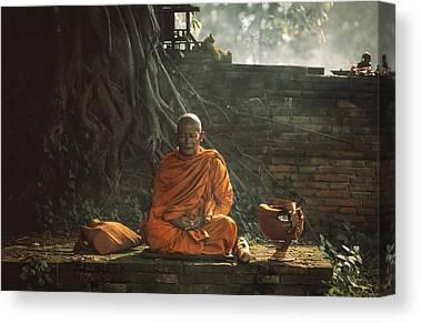 Budhism Canvas Prints