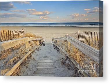 Maine Beach Canvas Prints