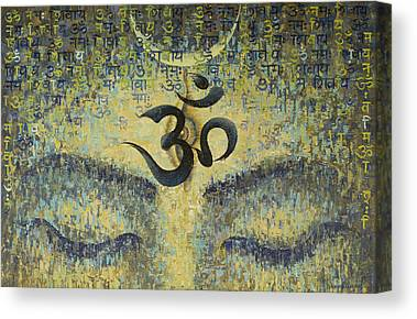 Om Canvas Prints