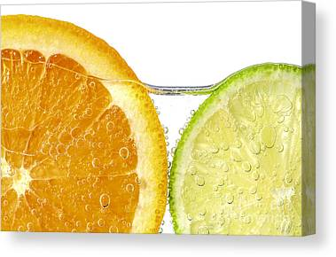 Citrus Canvas Prints