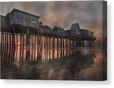 Old Orchard Beach Canvas Prints