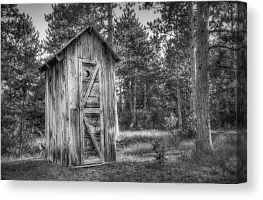 Outhouse Canvas Prints