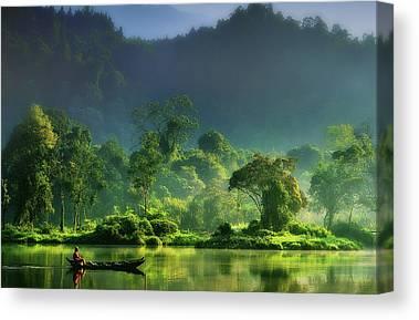 Indonesia Canvas Prints
