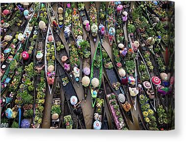 Raft Canvas Prints