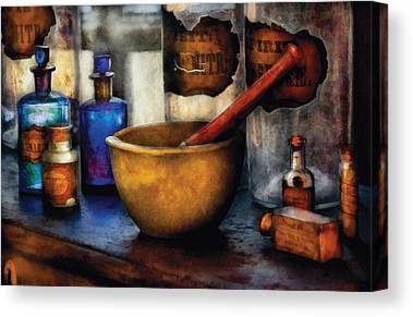 Flasks Canvas Prints